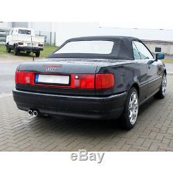 Fox Échappement Sport Audi 80/90 Type 89 B3 Berline /Coupé / 80 B4 Cabriolet 2 X