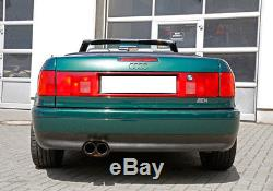 Fox Échappement Sport en Acier Inoxydable Audi 80 90 Soude Cabriolet Coupé