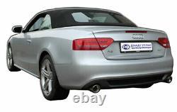 Fox Échappement Sport pour Audi A4 B8/A5 8T Quattro Coupé/ A5 Cabrio Endschal