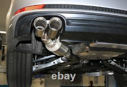Fox Inox Échappement Audi A5 B9 Coupé Cabriolet Sportback 3.0TDI Quattro 2x80