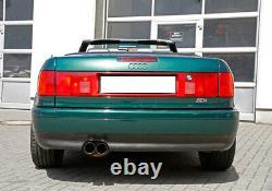 Fox Inox Échappement Sport Audi 80 90 Soude Cabriolet Coupé Type 89 2x76mm 10
