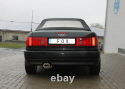 Fox Silencieux 135x80 pour Audi 80/90 89, B3 Soude / Coupé / 80 B4 Cabriolet