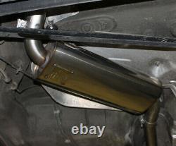 Fox Silencieux Central pour Audi 80/90 89, B3, B4 Soude / Coupé/Cabriolet