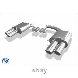 Fox Silencieux Chaque 2x88x74 pour Audi A4/A5/S5 Quattro 8T Coupé/Cabriolet