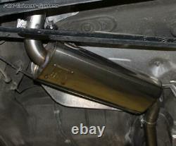 Inox Silencieux Central Audi 80/90 89 B3 Soude Coupé + Cabriolet B4 Ø63, 5mm
