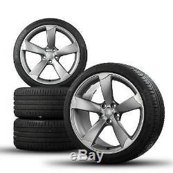 Jantes été Audi 19 pouces Jantes A5 S5 8T B8 Cabrio Coupé Rotor 8T0601025CD