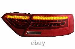 LED Feux pour Audi A5 8T Coupé Cabriolet Sportback 2007-2011 Dynamique Tournant