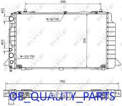 Liquide de refroidissement Radiateur 50527 pour Audi 80 Coupe Cabriolet