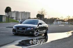 Neuf Paire De Côté Jupes / Seuil Housses V Style pour Audi A5 8T Coupé/Cabriolet