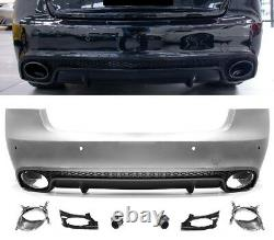 Pour Audi A5 8T Coupé Cabriolet 08-16 RS5'Pare-Chocs Calandre Diffuseur