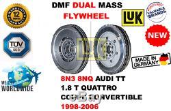 Pour Audi Tt 1.8 T Quattro Coupé Cabriolet 1998-2006 Newdmf Double Volant Moteur