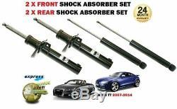 Pour Audi Tt Coupe + Cabriolet 2006-2014 Neuf 2 X avant + 2 X