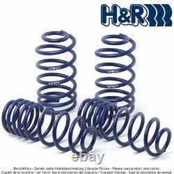 Ressorts H&R 29061-2 pour Audi A4 Avant/SW A4 Lim/Sedan Quattro A5 Cabrio/Conv