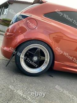 Roues Alliage 17 F5 pour Audi 90 100 80 Coupé Cabriolet Saab 900 9000 4x108 Bp