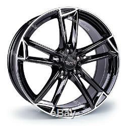 Roues Alliage 18 Targa TG3 pour Audi A4 B5 B7 B8 B9 Saloon A5 Coupé Cabriolet