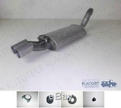 Silencieux + Attachments pour Audi Cabrio+Coupé 2.6 + 2.8E V6 1992-2000
