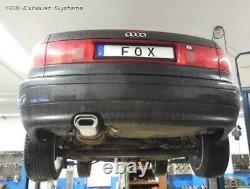 Sport + Vb-Rohr Audi 80/90 89 B3 B4 Soude Coupé Cabriolet 2.3l Plat Ovale