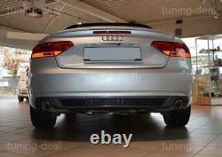 Tuning-Deal Diffuseur Pour Audi A5 8T Coupé/Cabriolet Facelift Diffuseur Arrière