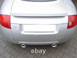 Ulter Inox Échappement Sport Audi Tt 8N Cabriolet Coupé 98-06 1.8T Ré Li Chaque