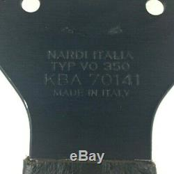 Véritable Personal Nardi Neo Grinta Noir Volant Cuir 350mm Rare! 8D